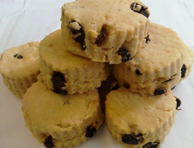 Dairy and Gluten free scones